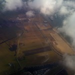Aerial view of fallow Dutch fields. (click to see larger)