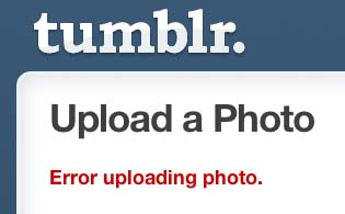 tumblr kicks back error messages for animated gifs